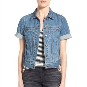 Madewell 'Summer' short sleeve denim jacket
